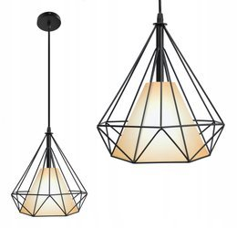 LAMPA LED DIAMENT BIAŁY KLOSZ E27